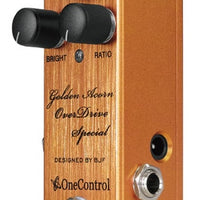 One Control Golden Acorn Overdrive Special Guitar Effect Effects Pedal BJF Series
