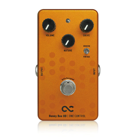 One Control Honey Bee OD Overdrive Effect Pedal