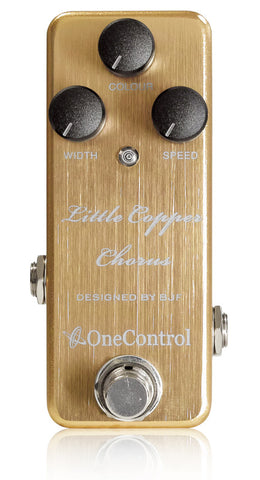 One Control Little Copper ChorusEffect Pedal