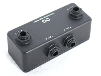 One Control Minimal Series 2 In 2 Out Junction Box OC-M-JB Pedal