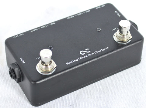 One Control Minimal Series Dual Effect Loop Box OC-M-BL Pedal