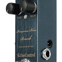 One Control Prussian Blue Reverb Electric Guitar Effect Pedal BJF Series