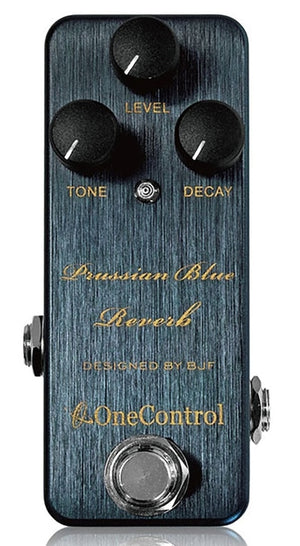 One Control Prussian Blue Reverb Effect Pedal