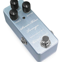 One Control Sonic Blue Twanger Distortion Guitar Effect Pedal BJF Series