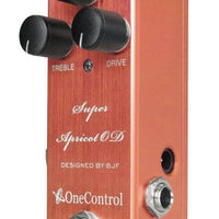 One Control Super Apricot OD Ovedrive Guitar Effect Pedal BJF Series