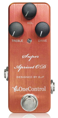 One Control Super Apricot OD Ovedrive Effect Pedal