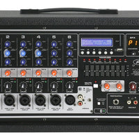 Peavey PVi-6500 6-Channel 400w Powered Mixer Head