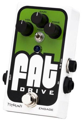 Pigtronix Fat Drive Tube Sound Overdrive Electric Guitar Effects Pedal
