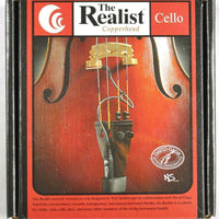 Realist RLSTC1 Copperhead Acoustic Cello Transducer Pickup Cage Steinberger