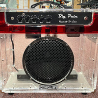 RockNRoll Amps Big Pete Reverb D-Lux 50w Clear Guitar Tube Combo Amplifier Amp
