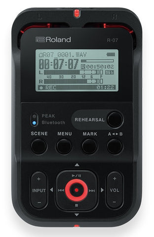 Roland R-07 High-Definition Handheld Audio Recorder