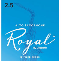 Royal Alto Sax 2.5 Box of 10