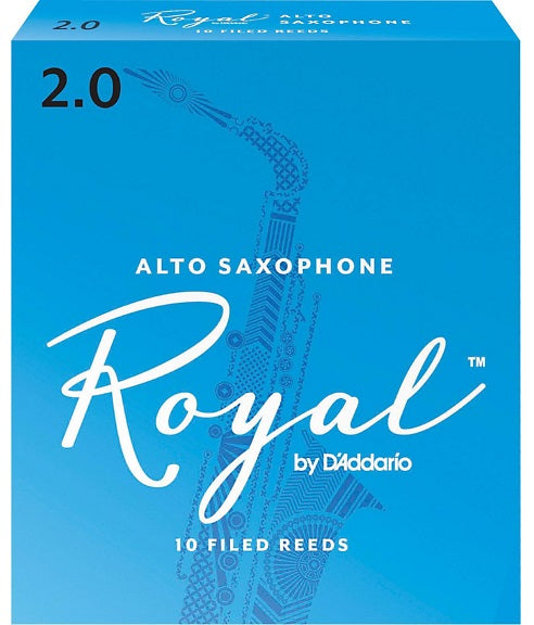Royal Alto Sax 2.0 Box of 10