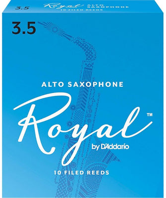Royal Alto Sax 3.5 Box of 10