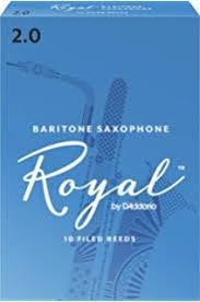 Royal Baritone Sax Reeds 2.0 Box of 10