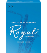 Royal Baritone Sax Reeds 3.5 Box of 10