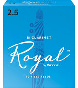 Royal Clarinet Reeds 2.5 Box of 10