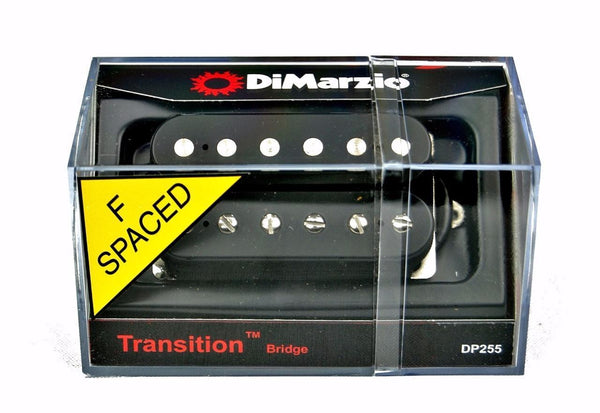 DiMarzio DP255 Lukather Transition F-Spaced Humbucker Guitar Bridge Pickup - Black