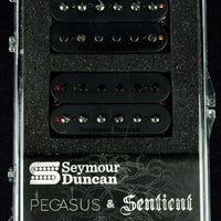 Seymour Duncan USA Pegasus & Sentient Humbucker Pickup Set 6 String Black