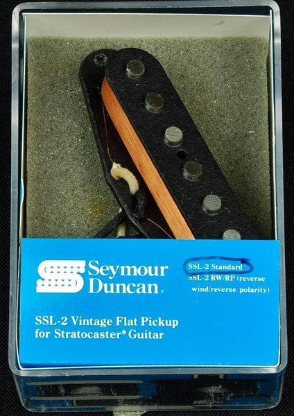 Seymour Duncan Vintage Flat Standard For Strat Guitar Pickup - Black