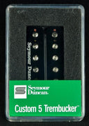 Seymour Duncan Custom 5 Trembucker TB-14 Humbucker Bridge Pickup - Black