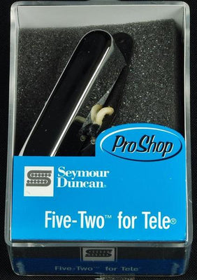 Seymour Duncan Five-Two Single Coil Telecaster Guitar Neck Pickup - Chrome