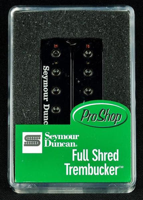 Seymour Duncan Full Shred Trembucker TB-10 Humbucker Bridge Pickup - Black