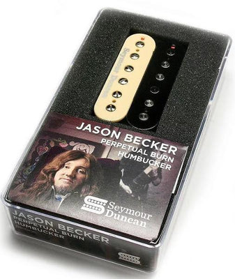 Seymour Duncan Jason Becker Perpetual Burn Trembucker Bridge Pickup Zebra