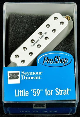Seymour Duncan Little '59 For Strat Stratocaster Guitar Bridge Pickup White