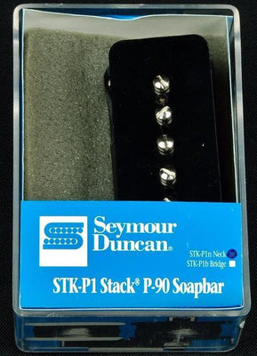 Seymour Duncan P-90 Stack STK-P1N Electric Guitar Neck Pickup - Black