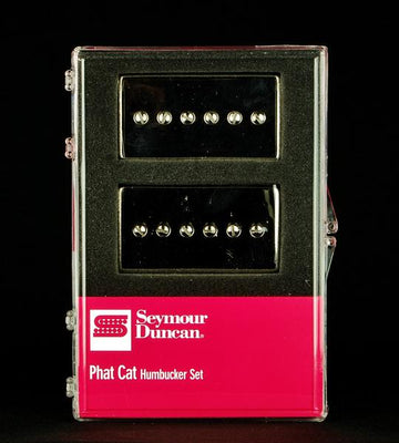 Seymour Duncan Phat Cat P90 Humbucking Sized Pickup Set -  Nickel