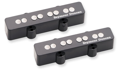 Seymour Duncan SJB-3S Quarter Pound Jazz Black Electric Bass Guitar Pickup Set