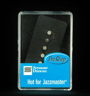 Seymour Duncan SJM-2b Hot For Jazzmaster Single Coil Bridge Pickup -  Black