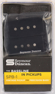 Seymour Duncan SPB-1 Vintage P-Bass Black Electric Bass Guitar Pickup