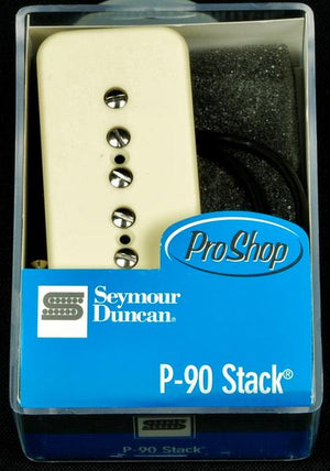 Seymour Duncan STK-P1B P-90 Stacked Soapbar Guitar Bridge Pickup - Cream