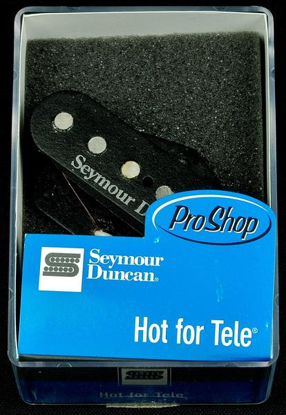Seymour Duncan STL-2 Hot For Tele Single Coil Guitar Bridge Pickup - Black