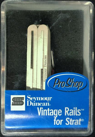 Seymour Duncan USA Vintage Rails SVR-1N For Strat Guitar Neck Pickup White