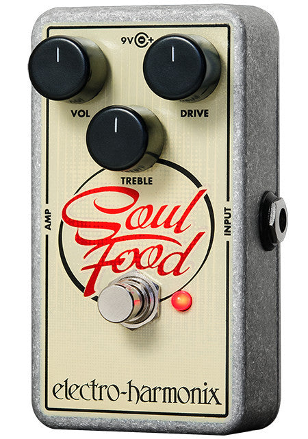 Electro-Harmonix EHX Soul Food Distortion Overdrive Boost Guitar Effect Effects Pedal