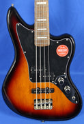Squier Classic Vibe Jaguar 3-Tone Sunburst Electric Bass Guitar