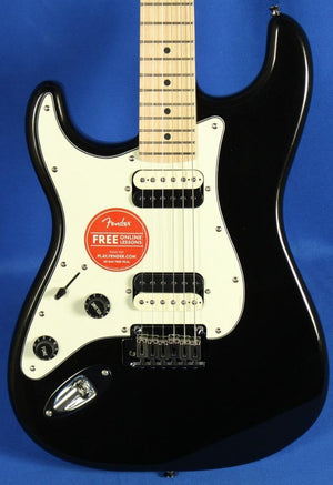 Squier Contemporary Lefty Stratocaster Metallic Black Guitar