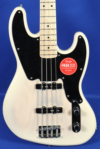 Squier Paranormal 54 Jazz White Blonde Electric Bass Guitar