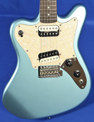 Fender Squier Paranormal Super-Sonic Ice Blue Metallic Electric Guitar