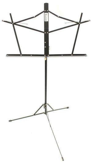 Starion ST-MS-BK Two-Section Black Folding Music Stand