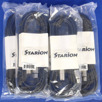 5-Pack Starion ST-MC20 20' XLR Cable Cables Microphone Mic