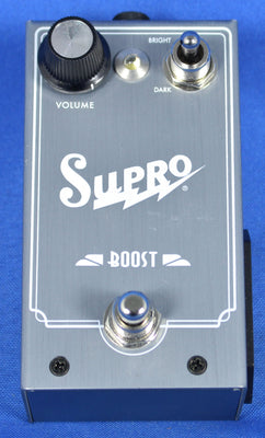 Supro Boost Electric Guitar Clean Booster Effect Effects Pedal