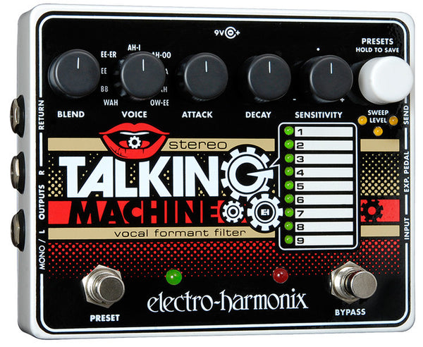 EHX Electro Harmonix Stereo Talking Machine Vocal Guitar Effects Pedal