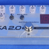 Tech 21 PSA 2.0 Electric Guitar SansAmp Overdrive Preamp Effect Effects Pedal