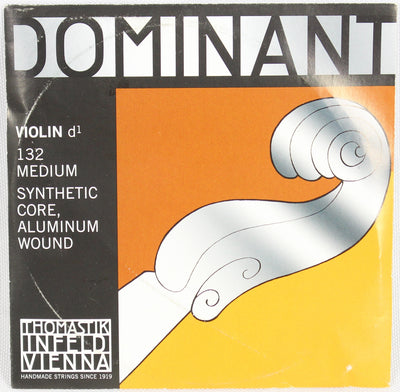 Dominant 132 4/4 Violin D1 Aluminum Wound String Thomastik Strings Orchestral