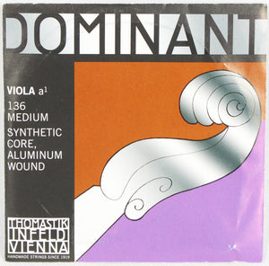 Dominant 136 Viola A1 Aluminum Wound String Thomastik Strings Orchestral