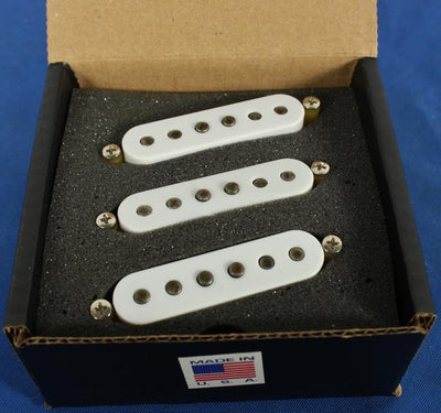 Tone Master USA Hand-Wound 65 Transition Strat Alnico 5 Electric Guitar Pickup Set RW/RP